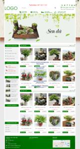 Mẫu website caycanh24h.vn – TU