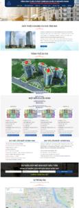 Mẫu website Giao dịch bất động sản-TU