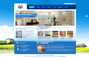 Mẫu website Điệp Dương Plaza-TYC