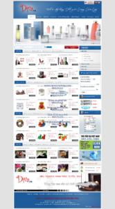 Mẫu website Diva demo 1 -TYC