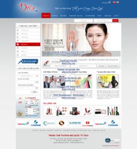 Mẫu website Diva -TYC