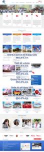Mẫu website du học vitc-TU
