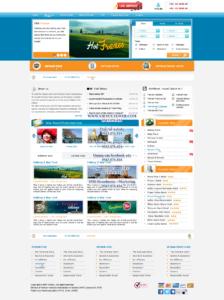 Mẫu website Du lịch-TYC