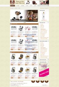 Mẫu website Dụng cụ làm bánh demo 2-TYC