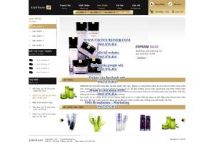 Mẫu website Enprani -TYC