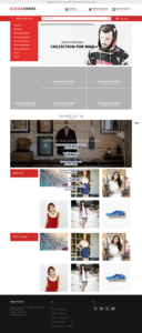 Mẫu website Giang Shoes – TU