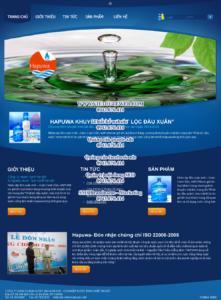 Mẫu website Hapuwa-TYC
