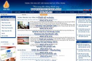 Mẫu website Hoa Việt-TYC