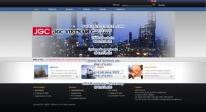 Mẫu website JGC Việt Nam-TYC