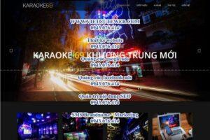 Mẫu website Karaoke 69 Khương Trung – TU
