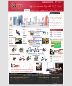 Mẫu website Ktmart -TYC