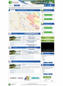 Mẫu website Lưu vực sông cầu-TYC