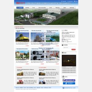 Mẫu website Meco-V-TYC