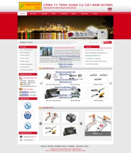 Mẫu website Nam Duong-TYC