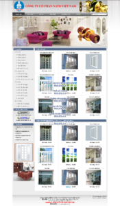 Mẫu website NaTo-TYC