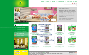 Mẫu website Nishu demo 3-TYC