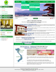 Mẫu website Nishu demo 1-TYC