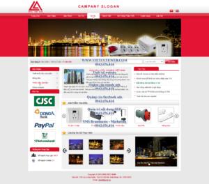 Mẫu website NIVA Việt Nam-TYC