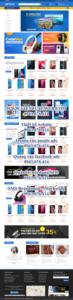 Mẫu website Phụ kiện điện thoại Atech mobile -TU