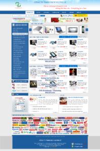 Mẫu website Phú Sĩ-TYC