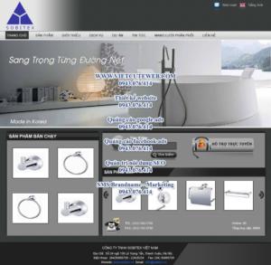 Mẫu website Sobitex demo 2 -TYC