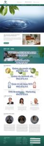 Mẫu website Spa Thủy liệu pháp-TU
