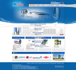 Mẫu website Tân Á Đại Thành -TYC