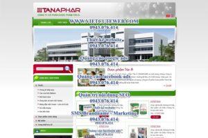 Mẫu website Tân Á Phar-TYC