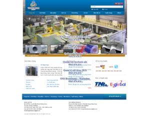 Mẫu website Thanh Nam demo 3 -TYC