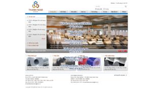 Mẫu website Thành Nam Group-TYC
