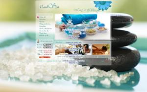 Mẫu website Thanh Spa  -TYC