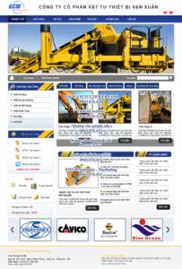 Mẫu website Vạn Xuân-TYC