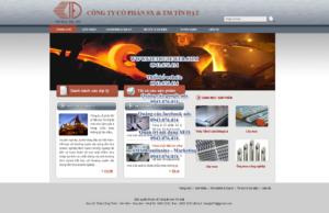 Mẫu website Tín Đạt-TYC