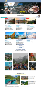Mẫu website UU Travel- TU