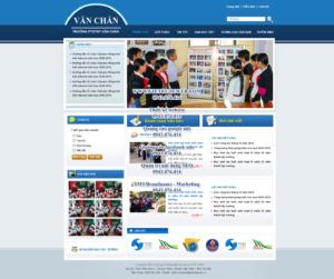 Mẫu website Văn Chấn-TYC