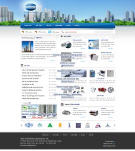 Mẫu website Vipanimex demo 2-TYC