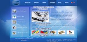 Mẫu website Vipanimex-TYC