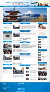Mẫu website xkld-vietnhat-TU