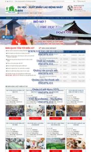 Mẫu website xkld-vinhhung-TU
